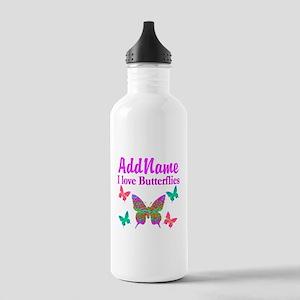 LOVE BUTTERFLIES Stainless Water Bottle 1.0L