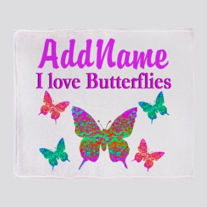 LOVE BUTTERFLIES Throw Blanket