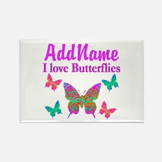 LOVE BUTTERFLIES Rectangle Magnet