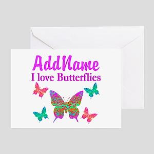 LOVE BUTTERFLIES Greeting Card