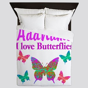 LOVE BUTTERFLIES Queen Duvet