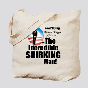 shirking_t-shirt_lt_cp Tote Bag