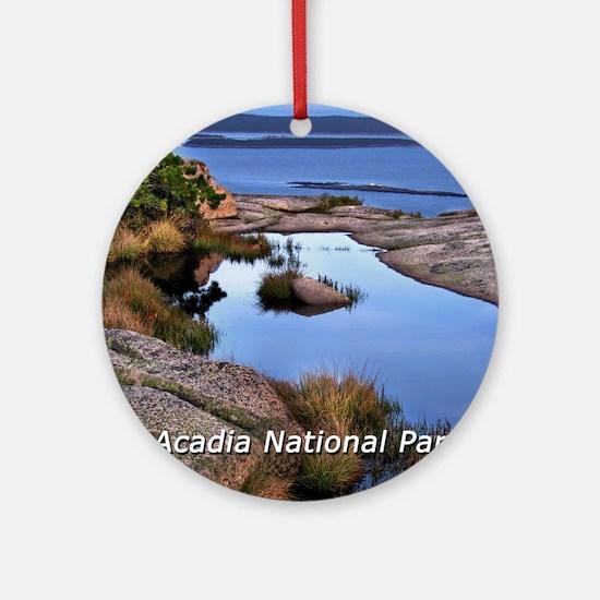 acadia1 Round Ornament