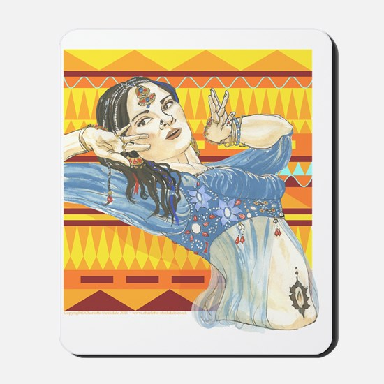 indian_gypsy Mousepad