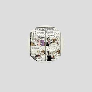 Zombie Wedding Mini Button