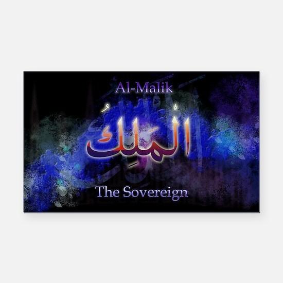 Al-Malik_black Rectangle Car Magnet