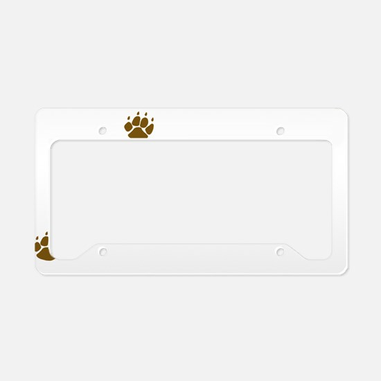 dogmobile License Plate Holder