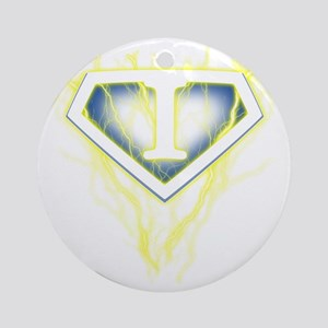 super lightning i Round Ornament
