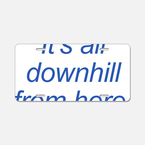 Designs-Community002-back Aluminum License Plate