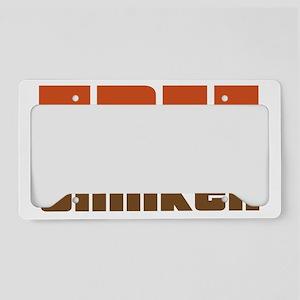 freethinkretro-01 License Plate Holder