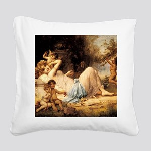 CALzatzkavenusattendants Square Canvas Pillow