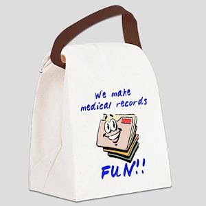 MedicalRecords Canvas Lunch Bag
