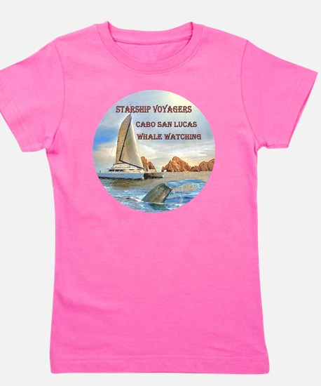 STARSHIP VOYAGERS Cabo  San Lucas Whale Girl's Tee