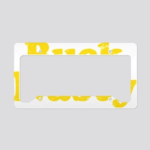 bucknastyyellow License Plate Holder
