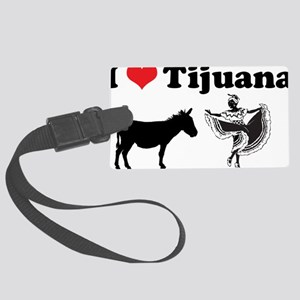 Ihearttijuana Large Luggage Tag