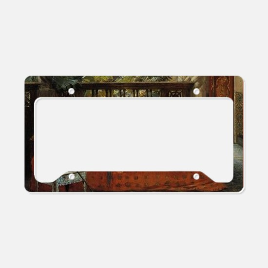 CALsiesta License Plate Holder