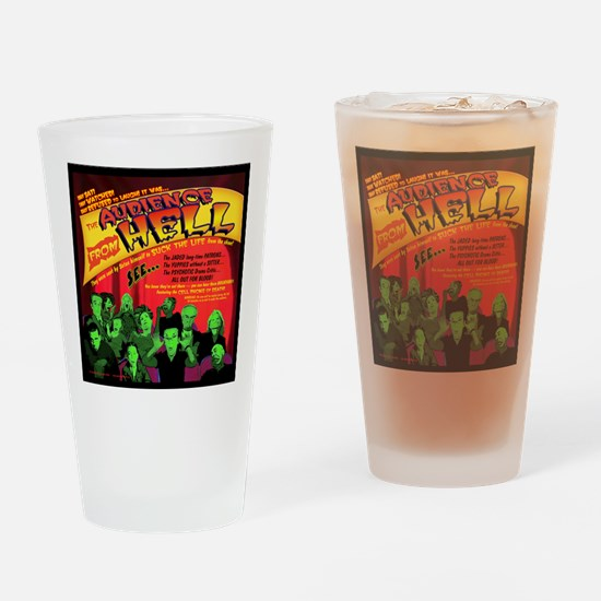 Hell-Audience-52x66 Drinking Glass