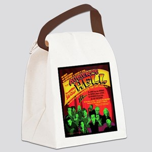 Hell-Audience-52x66 Canvas Lunch Bag