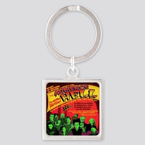 Hell-Audience-52x66 Square Keychain