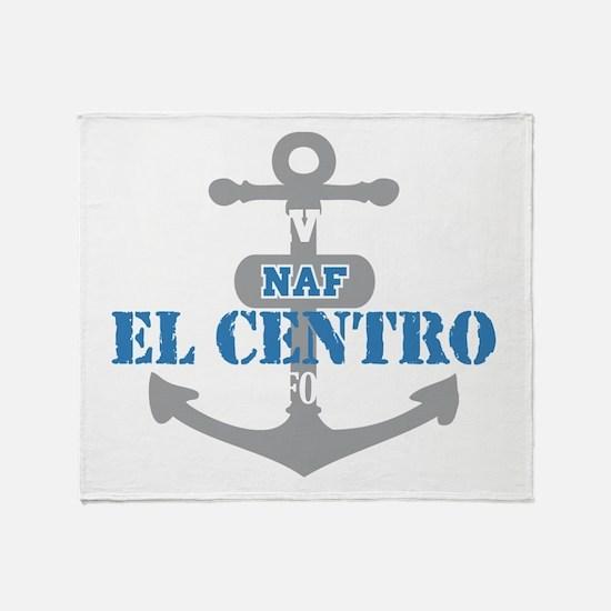 CA El Centro 2 Throw Blanket