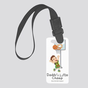 daddys-little-champ Small Luggage Tag
