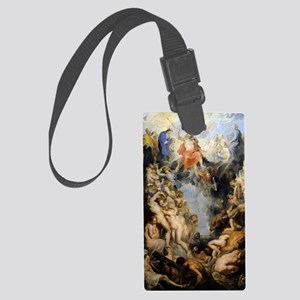 The Last Judgement Large Luggage Tag