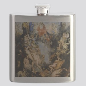 The Last Judgement Flask