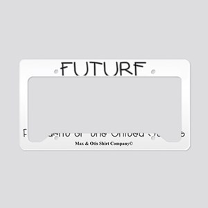 future-potus License Plate Holder