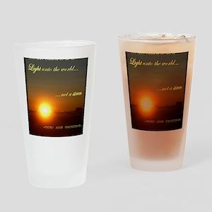 Light of the world Drinking Glass