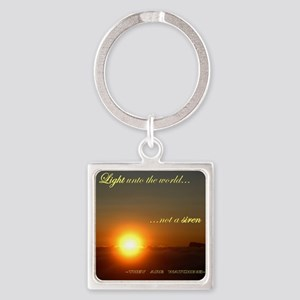 Light of the world Square Keychain