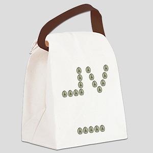 Mormon Eye Canvas Lunch Bag