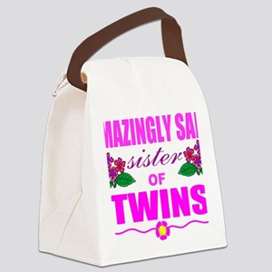 Sane sister of twins Canvas Lunch Bag