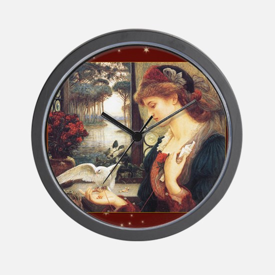 MPlovesmessenger Wall Clock
