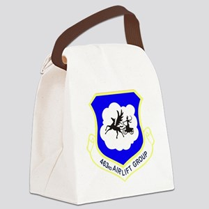 463rd Airlift Group Canvas Lunch Bag