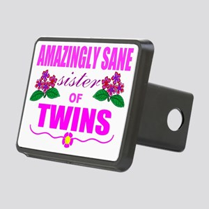 Sane sister of twins Rectangular Hitch Cover