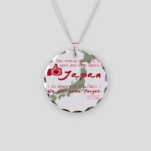 japanrelief2011_92 Necklace Circle Charm