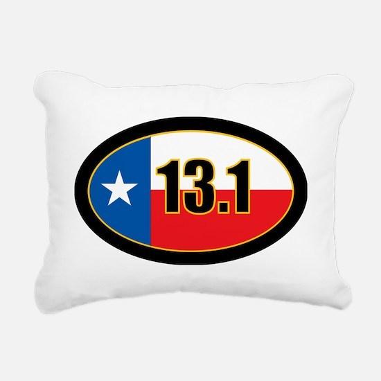Half marathon Rectangular Canvas Pillow