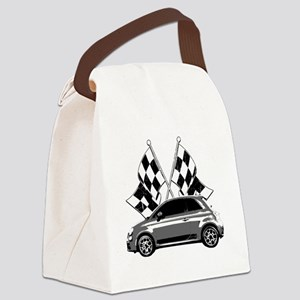 Fiat 500 copy Canvas Lunch Bag