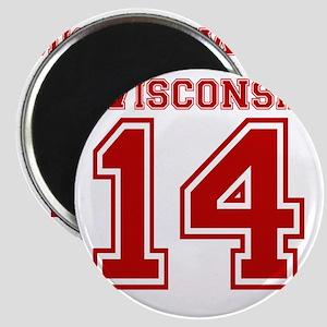 wisconsin-14 Magnet