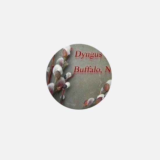 dyngus day buffalo combo_edited-2 Mini Button