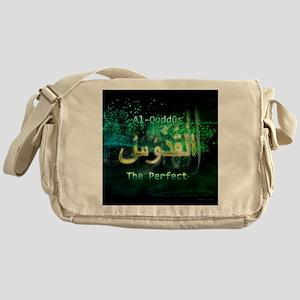 Al-Quddus_smallblack Messenger Bag