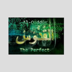 Al-Quddus_smallblack Rectangle Magnet