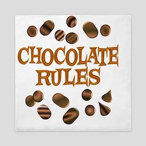 rulechocolate Queen Duvet