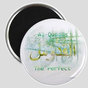 Al-Quddus_smallwhite Magnet