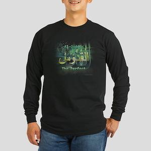 Al-Quddus_smallwhite Long Sleeve Dark T-Shirt