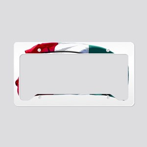 Italian Fiat 500 copy License Plate Holder