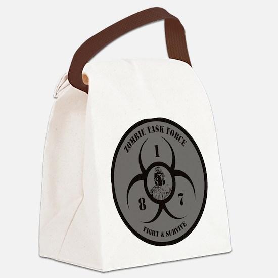 Unique World war z %2covie Canvas Lunch Bag