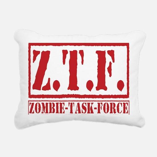 Cute Zombieland Rectangular Canvas Pillow