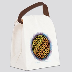 Flower Of Life 2 Canvas Lunch Bag