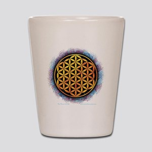 Flower Of Life 2 Shot Glass